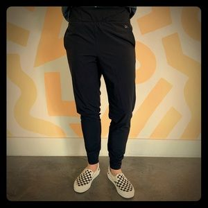 GapFit Black Stretchy Jogger Pants